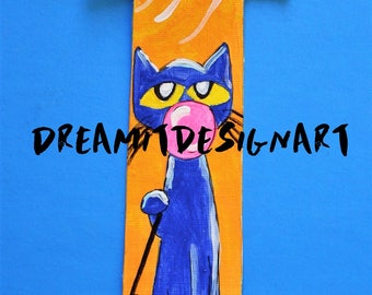 Pete the Cat Stay Groovy Alphabet Letter I
