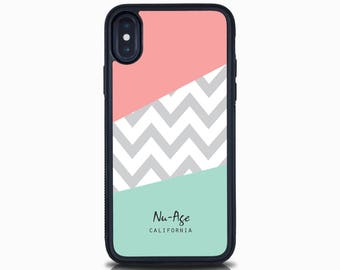 Geometric Iphone X Case Chevron Iphone 8 Plus Case Zig Zag Mint Iphone 8 Case Iphone 7 Plus Iphone 7 Case Iphone 6S Plus Case Iphone 6S Case
