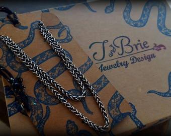 Custom Sterling Snake Necklace Listing for Ally