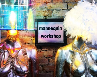 SATURDAY 19th AUGUST Mannequin lamp workshop