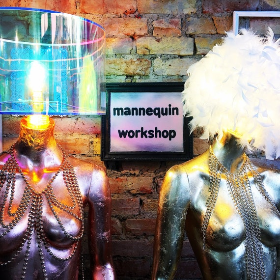 SATURDAY 28th OCTOBER Full body Mannequin lamp workshop