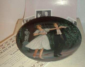 1987 The Sound Of Music Laendler Plate w Box