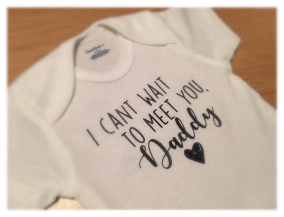 Daddy Reveal Baby Announcement Onesie®, Baby Boy Reveal, Gender Reveal, New Daddy, Reveal to Dad, Reveal to Husband, Pregnancy Announcement
