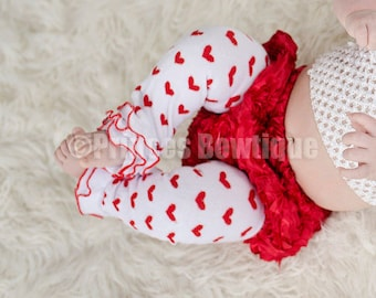 Valentines Baby Leg Warmers, Heart legwarmers, Valentines leggins, Newborn leg wamers, love leg warmer baby, photography prop