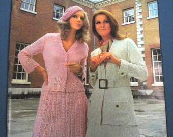 Vintage Bernat Sun Followers Knitting Book 1969