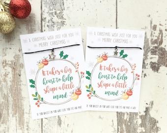 Teachers Christmas gift, holiday gift, Christmas gift, Christmas teacher, gift for teacher, teachers gift