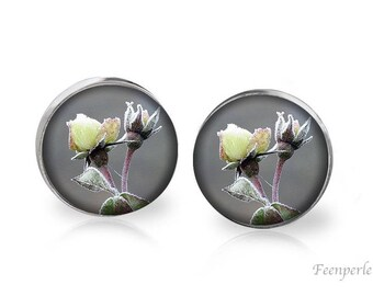Stud Earrings Frosted 1