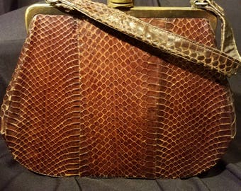 Vintage Alligator Purse from the 1950's