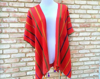 Kimono Cardigan, Boho Vest, Tribal Print, Kimonos, Unicorn Rainbows, July 4th, Bohemian Gift, Kimonos, Wanderlust, Beach Cover, Festival Top