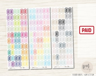 Paid Stickers - Planner Stickers - FS06