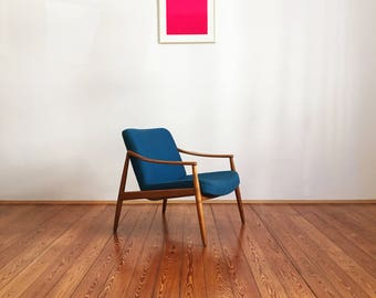 Mid century cherrywood - Chair by Hartmut Lohmeyer