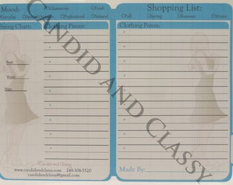 Shopping List Key Cards 10 Pack