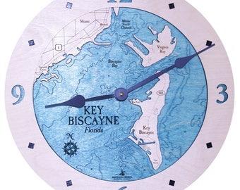 "Key Biscayne, Florida 12"" Clock"