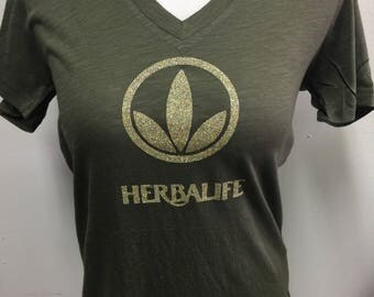 Tri leaf herbalife T-shirt