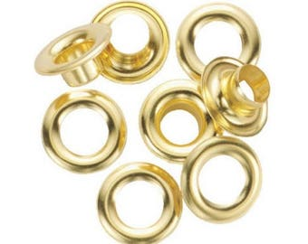 1/2-Inch Grommet Refill with 24 Brass Grommets