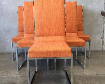 Milo Baughman for Design Institute of America Dining Chairs  (16T8ZX)