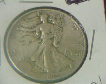 1944 P Walking Liberty Silver Half Dollar (WQ18)