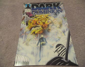 1993 Dark Dominion  #2 Defiant Comics, November/ Comic Book #CB1
