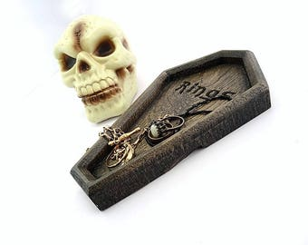 Halloween, halloween decor, halloween decoration, happy halloween, trick or treat, coffin, goth, gothic, coffin shaped, casket, coffin box