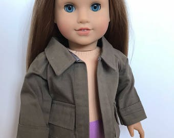 Jacket for american girl dolls