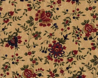Gooseberry Lane Tan Floral by Kansas Trouble from Moda by the yard