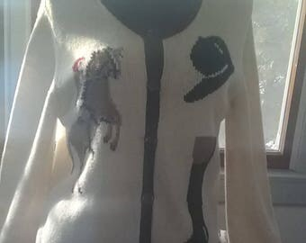 Equestrian Theme Sweater