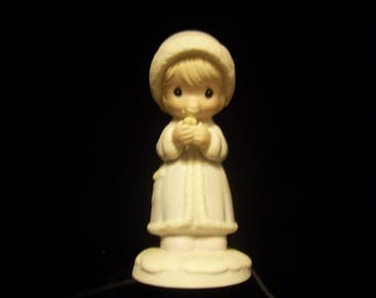 """Precious Moments """"May You're Christmas Be Merry"""" Figurine"""