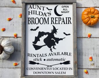 Witch sign/ halloween sign/ halloween decor/ witches/ fall decor/ home decor/ rustic/ country decor/ gifts