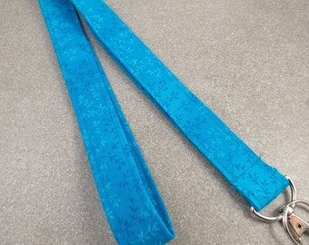 SALE! Lanyard  Blue Lanyard Ocean Blue Lanyard Teacher Lanyard Hostess Lanyard Grad Gift Nurse Lanyard Key Holder ID Badge Holder