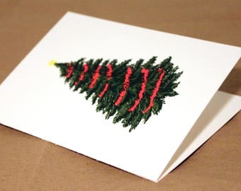 Christmas Tree - Hand Lettered Card