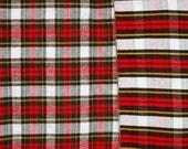 Reversible plaid flannel ...