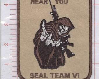 Navy Seal Anti Terroism Patch