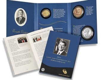 2016S Coin & Chronicles Reverse Proof Ronald Reagan