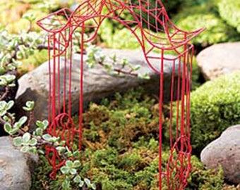 Fairy Garden  - Zen Garden Arbor - Miniature