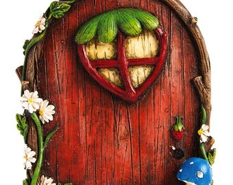 Fairy Garden  - Cozy Woodland Fairy Door - Miniature