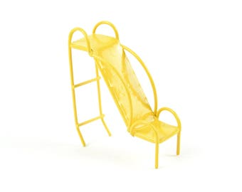 Fairy Garden  - Micro Mini Yellow Slide - Miniature