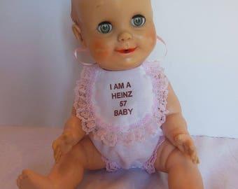 Bib & Panties for 12 Inch Hungerford Heinz 57 Baby Dolls