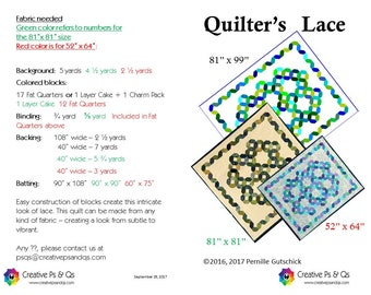 Quilter's Lace- Quilting Pattern