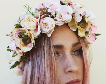 Roses are a girls best friend crown