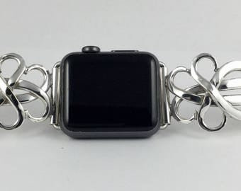 Silverplate Fork IWatch Band  38mm           Size 6 1/4 inches        #2343