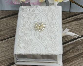 FAST SHIPPING!! Beautiful Bible, Bible, Wedding Bible, Communion Bible, Wedding Gift, Anniversary Bible, English Bible, Spanish Bible