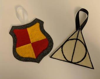 Custom Harry Potter Inspired Christmas Ornaments