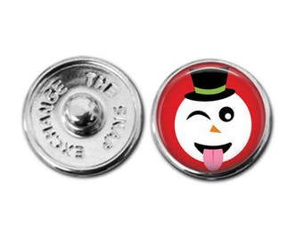 Holiday emoji charm, emoji jewelry, snowman emoji, Emoji charm, Holiday emoji, kid jewelry, tween jewelry, kid fashion, trendy jewelry