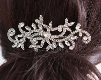 Crystal Wedding Hair Comb, Bridal Hair Comb