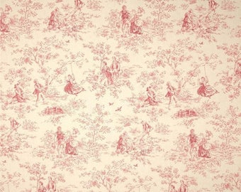 summer sale fabric shower curtain p kaufmann kensington garden toile rose pink ivory 72 x 90