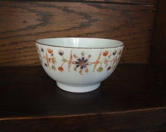 New Hall Porcelain Pattern 434 Waste Bowl - Circa 1795