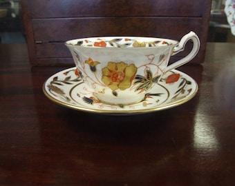Royal Crown Derby Asian Rose Teacup & Saucer