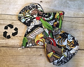 Reusable Cloth Pad- Light/Liner 8 inch- AME