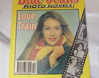 Vintage 1990 Photo Novel Romance ~ Blue Jeans No. 456 - Love Train