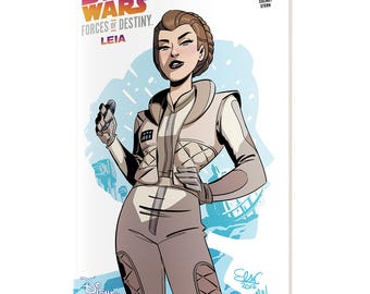 STAR WARS Forces of Destiny-Leia (cover B)